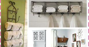 Bathroom Storage: Over the Toilet