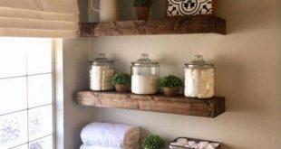 30+ Stunning Farmhouse Small Bathroom Decorating Ideas