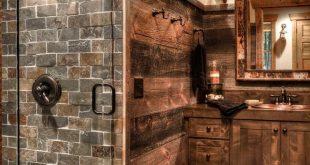 31 wunderschöne rustikale Badezimmer Dekor Ideen für zu Hause ausprobieren - #...