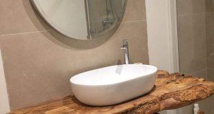 44 Die besten rustikalen kleinen Badezimmerideen mit Dekor aus Holz - #aus #bade...