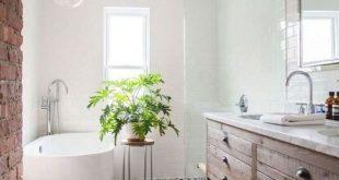29+ Fabulous Farmhouse Small Bathroom Deko-Ideen #Badezimmerideen #Badezimme ...