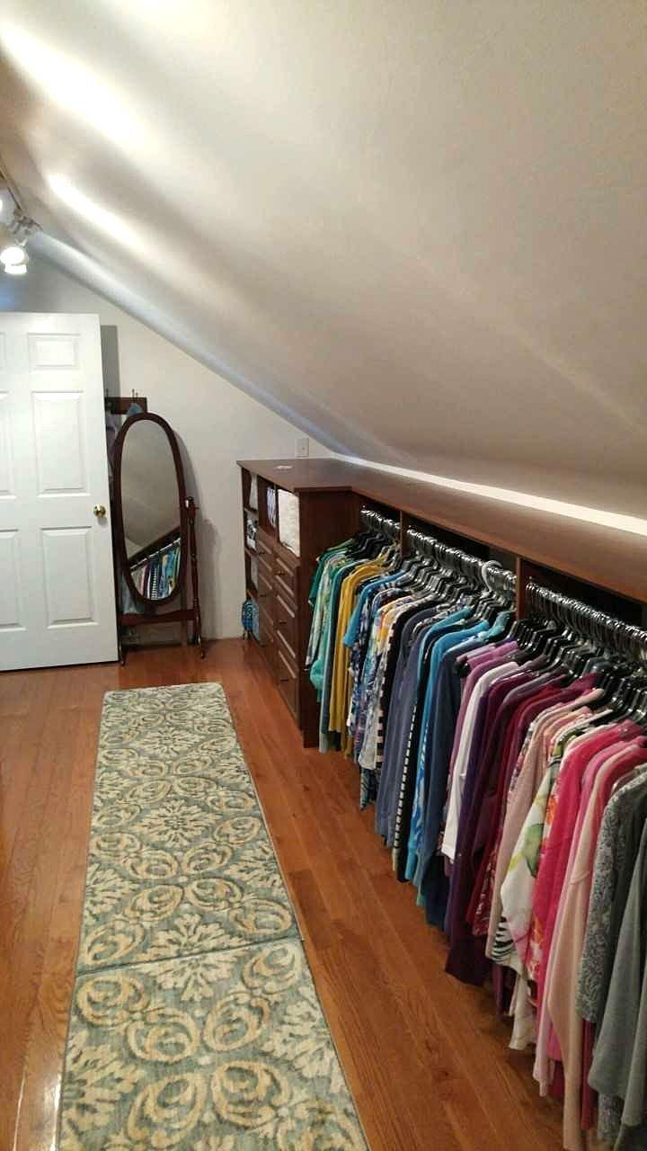 Machen Sie das Beste aus Ihrem Dachboden - auch bei abgeschrägten Decken und kurzen