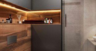 Санузел 4 м² - Галерея 3ddd.ru #moderndesignbathrooms