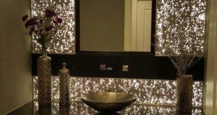 10+ Beautiful Breathtaking Powder Room Ideas - #Beautiful #Breathtaking #Ideas #...