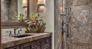 43 Most Amazing Rustic Bathroom Remodel Ideas