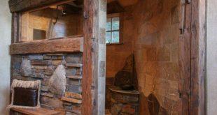 16 gemütliche rustikale Badezimmer-Ideen, um Sie in diesem Winter aufzuwärmen