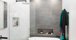 19 Excellent Grey Bathroom Ideas