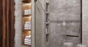 30 idées de salle de bain moderne 30 idées de salle de bain moderne #Layoutbag...