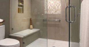 41 Enjoying Small Bathroom Shower Remodel Ideas - #Bathroom #dreams #Enjoying #I...