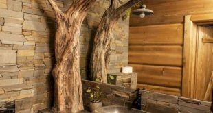 48 The Best Sink Design You Can Try in Your Bathroom - #Bathroom #design #rustic...