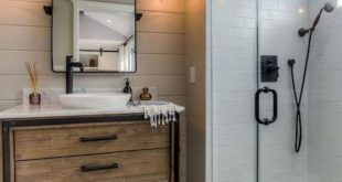 53 Cozy Farmhouse Master Bathroom Remodel Ideas