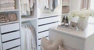 Unglaubliche kleine begehbare Kleiderschrank Ideen & Makeovers. Hat dir dieser Spaziergang nicht gefallen